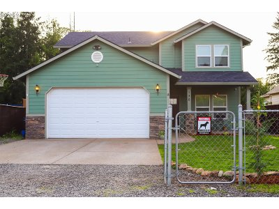 Estacada Single Family Home Pending: 130 E 1st Ave