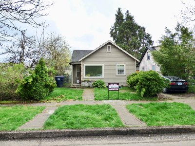Springfield Single Family Home For Sale: 1119 A St