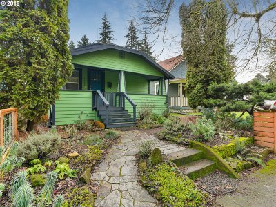 Portland Single Family Home For Sale: 9464 N Trumbull Ave