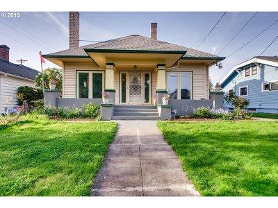 Portland Single Family Home For Sale: 1645 N Willamette Blvd