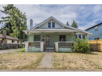Portland Single Family Home For Sale: 4411 SE 51st Ave