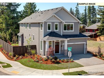 Tigard Single Family Home For Sale: 14779 SW 76th Ave #Lot34