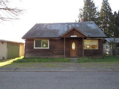 Vernonia Single Family Home For Sale: 1042 Weed Ave