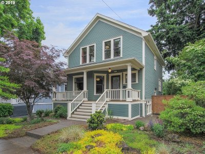 Portland Single Family Home For Sale: 3126 SE 10th Ave
