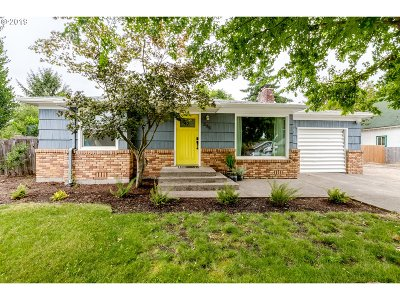 Single Family Home For Sale: 295 Maple St