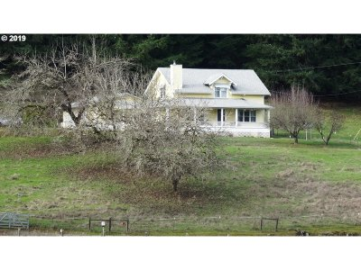 Sutherlin Single Family Home For Sale: 355 Banks Creek Rd