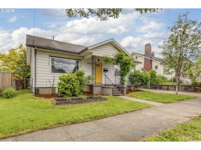 Portland Single Family Home For Sale: 8968 N Wall Ave