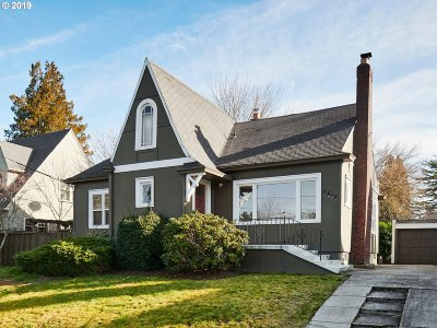 Portland Single Family Home For Sale: 3815 NE Alameda St