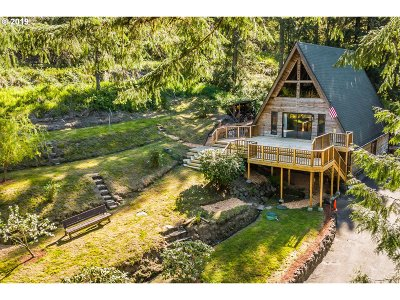 Kalama Single Family Home For Sale: 1572 Kalama River Rd
