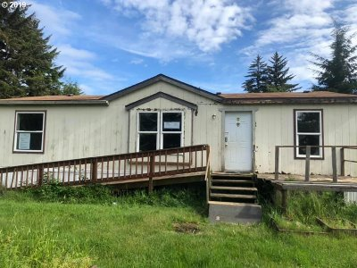 Coos Bay Single Family Home For Sale: 63511 S Olive Rd