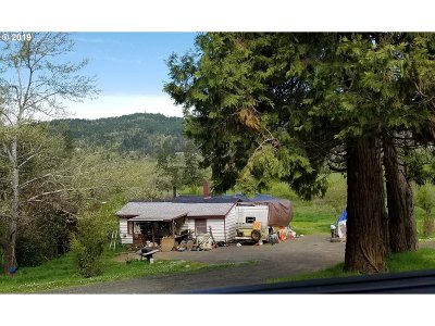 Sutherlin Single Family Home For Sale: 1994 South Side Rd