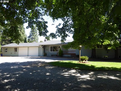 Oregon City Single Family Home For Sale: 13241 S Nobel Rd