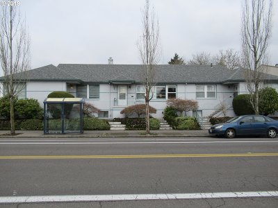 Clackamas County, Multnomah County, Washington County Multi Family Home For Sale: 7903 E Burnside St
