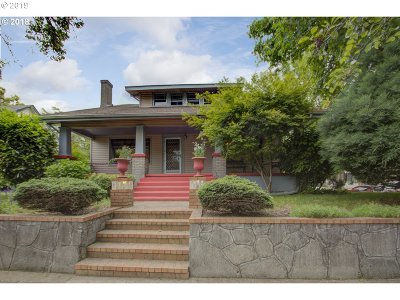 Portland Single Family Home For Sale: 3441 NE 15th Ave