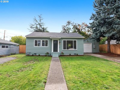Single Family Home For Sale: 8514 NE Humboldt St