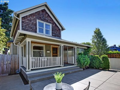 Portland Single Family Home For Sale: 5724 NE 12th Ave