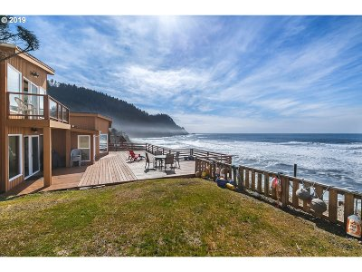 Arch Cape, Cove Beach Single Family Home For Sale: 79084 Cove Beach Rd