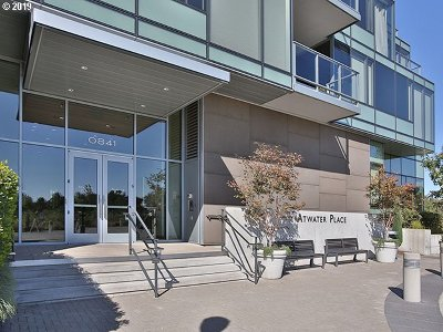 South Waterfront Atwater Place, South Waterfront/John Ross Condo/Townhouse For Sale: 841 SW Gaines St #1504