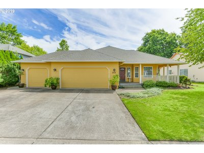Canby Single Family Home Pending: 295 SE 10th Ave