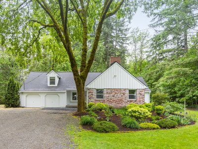Single Family Home For Sale: 17720 SW Rigert Rd