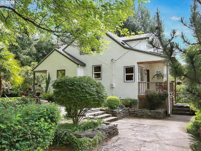 Portland Single Family Home For Sale: 10911 SW 35th Ave