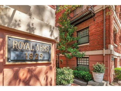 Portland Condo/Townhouse For Sale: 1829 NW Lovejoy St #301