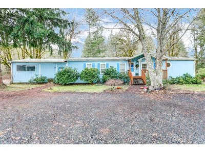 Vernonia Single Family Home For Sale: 2165 N Mist Dr