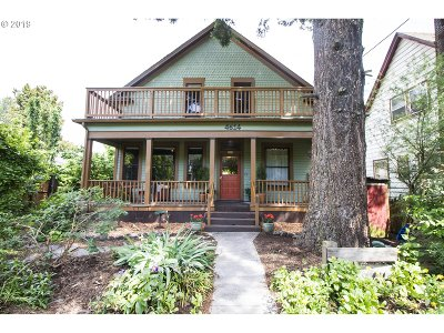 Portland Single Family Home For Sale: 4614 N Michigan Ave