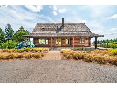 Newberg, Dundee, Lafayette Single Family Home For Sale: 28800 NE Bell Rd