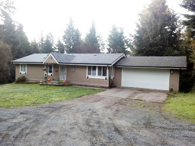 Coos Bay Single Family Home For Sale: 63461 Flanagan Rd