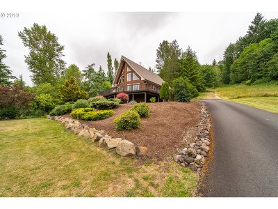 Cowlitz County Single Family Home For Sale: 430 Walnut Acres Rd