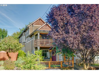 Portland Single Family Home For Sale: 3602 N Albina Ave