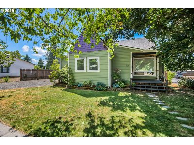 Newberg, Dundee, Lafayette Single Family Home For Sale: 314 W 2nd St