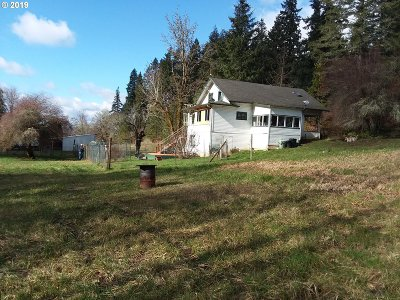 Cottage Grove Single Family Home For Sale: 28612 Cottage Grove Lorane Rd