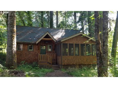 Single Family Home For Sale: 56483 McKenzie Hwy #1