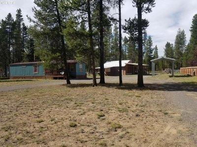 La Pine Single Family Home For Sale: 15944 Mountain View Ln
