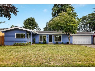 Portland Single Family Home For Sale: 12365 SW Park Way