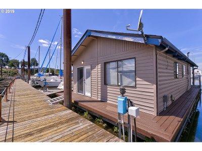 Multnomah County Single Family Home For Sale: 2901 NE Marine Dr #C15