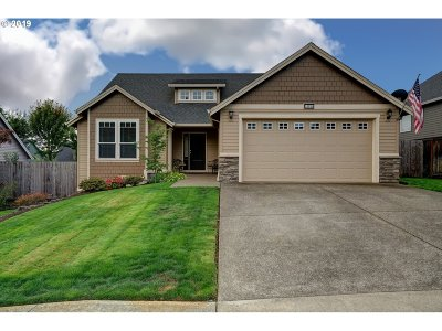 Wilsonville, Canby, Aurora Single Family Home For Sale: 14896 Rooster Rock Ave NE