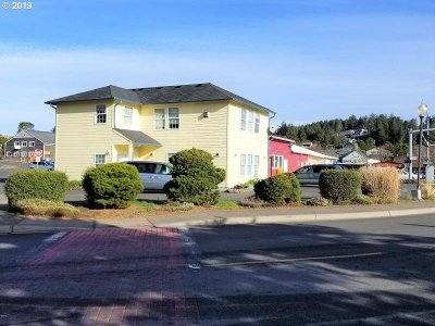 Lincoln City Commercial For Sale: 4787 SW Hwy 101