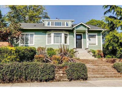 Eugene Single Family Home For Sale: 1960 Willamette St