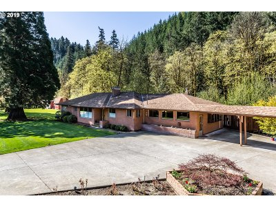 Single Family Home For Sale: 32530 Scappoose Vernonia Hwy