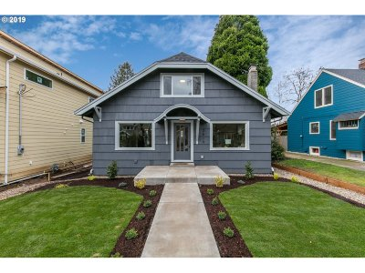 Single Family Home For Sale: 2519 SE 70th Ave