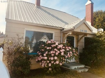 North Bend Single Family Home For Sale: 1438 Sherman