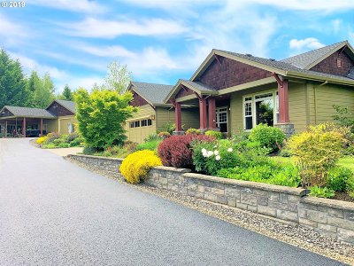 Single Family Home For Sale: 25852 SW Vanderschuere Rd