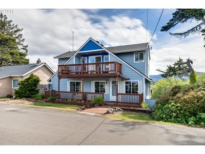 Lincoln City Single Family Home For Sale: 4902 SW Coast Ave