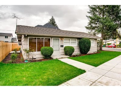 Single Family Home For Sale: 6632 SE 77th Ave