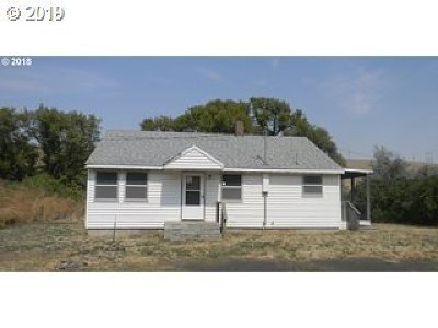 Single Family Home For Sale: 45253 Adams Rd