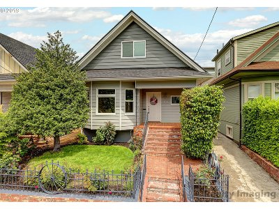 Multnomah County Single Family Home For Sale: 101 N Blandena St