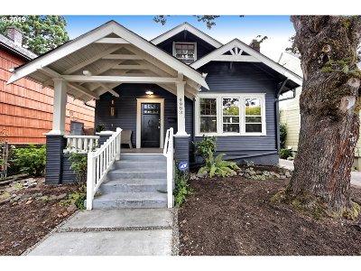 Portland Single Family Home For Sale: 4903 NE 30th Ave